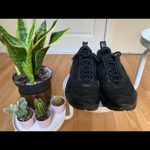 Puma black trainers